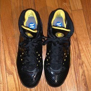 Men's Nike Huarache Zoom Black And Yellow Sneakers